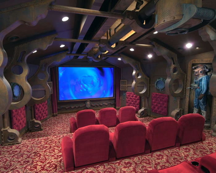 10 Awesome Home Theater Designs You Would To Watch Movies In 11