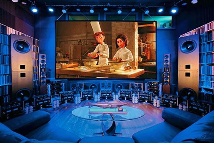 10 Awesome Home Theater Designs You Would To Watch Movies In 14