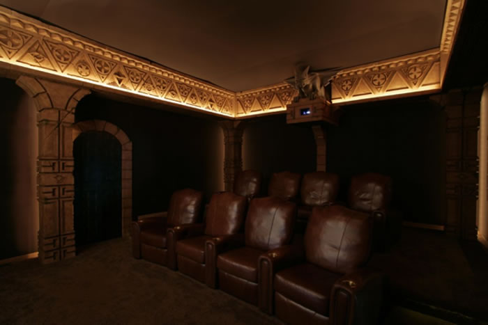 10 Awesome Home Theater Designs You Would To Watch Movies In 5