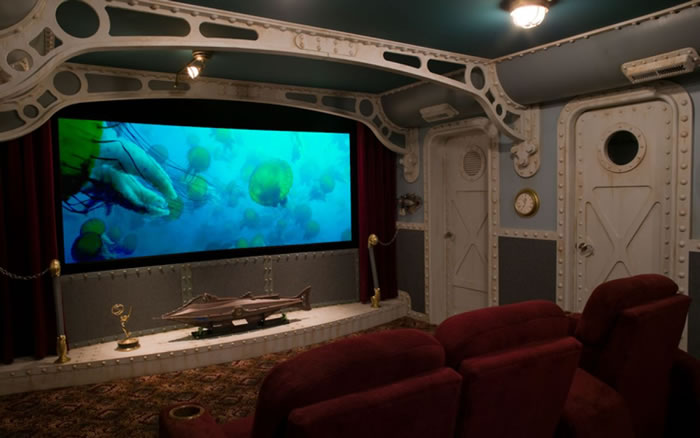 10 Awesome Home Theater Designs You Would To Watch Movies In 8