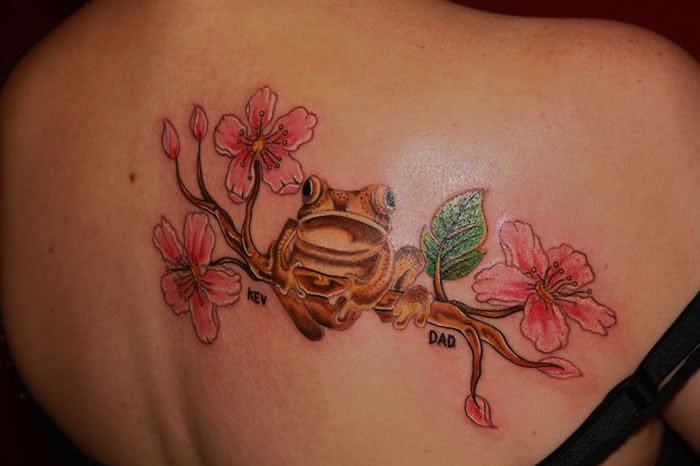 12 Animal Spiritual Meanings Of Custom Tattoos frog