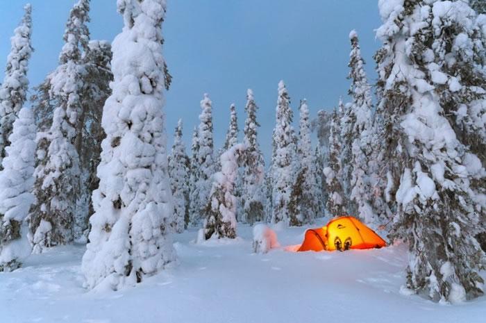 17. Nightfall in the Arctic by Heikki Put