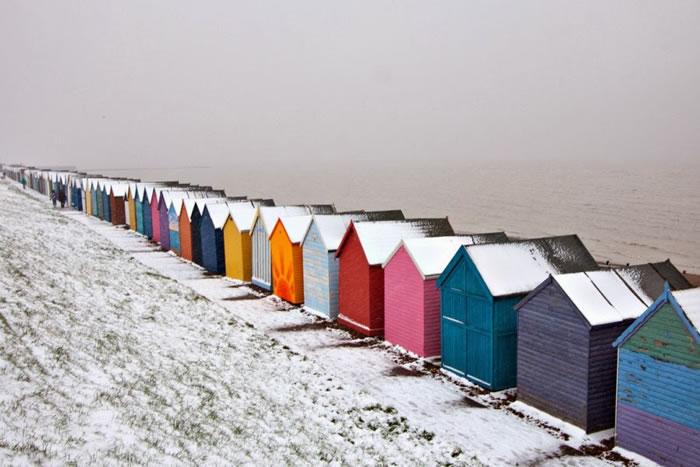 18. Seaside Snow