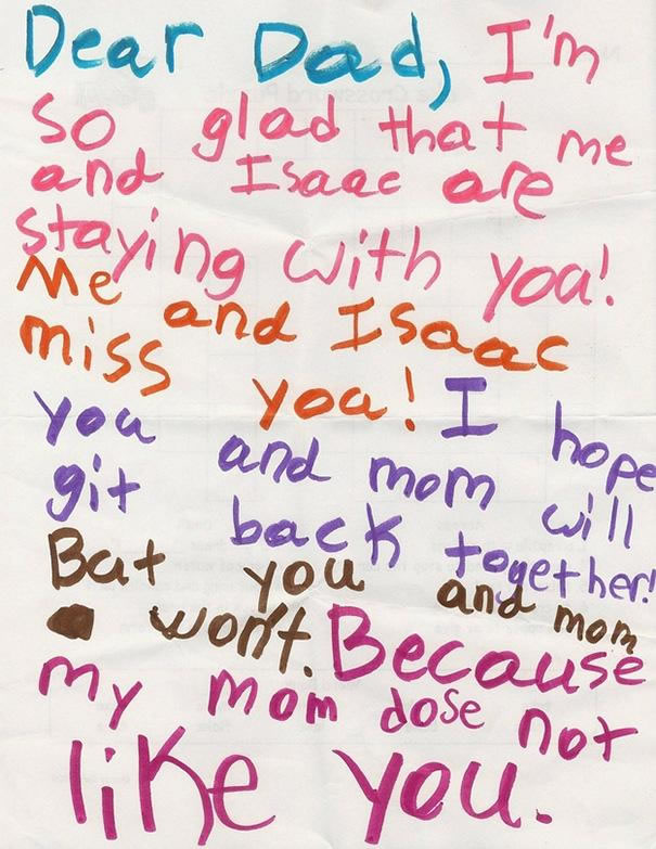 39 Funny Messages Left By Kids On Paper Notepads (10)