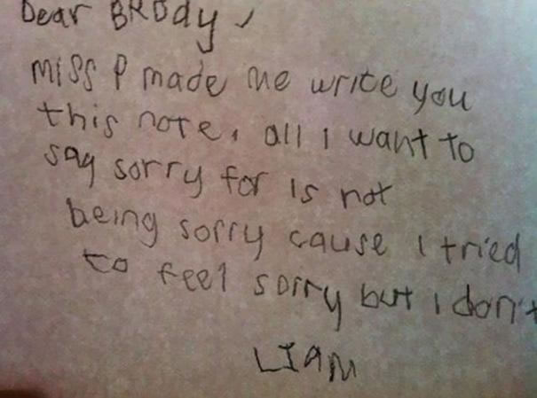 39 Funny Messages Left By Kids On Paper Notepads (12)