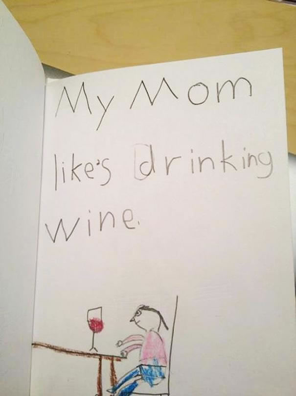 39 Funny Messages Left By Kids On Paper Notepads (7)