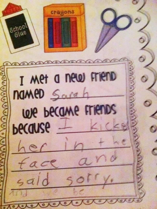 39 Funny Messages Left By Kids On Paper Notepads (8)