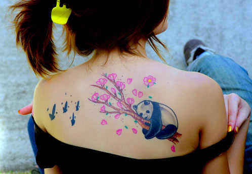 8 Animal Spiritual Meanings Of Custom Tattoos panda