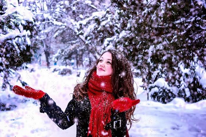 8. First Snow by Larisa Viviana