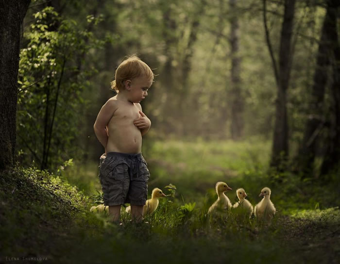 Amazing Kids On The Farm Stock Photograph Collection (12)