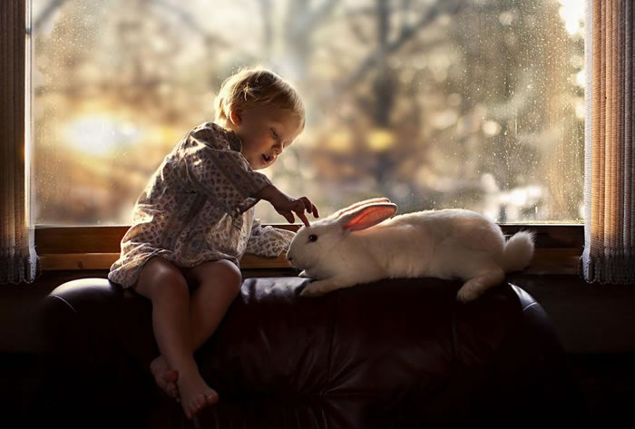 Amazing Kids On The Farm Stock Photograph Collection (5)