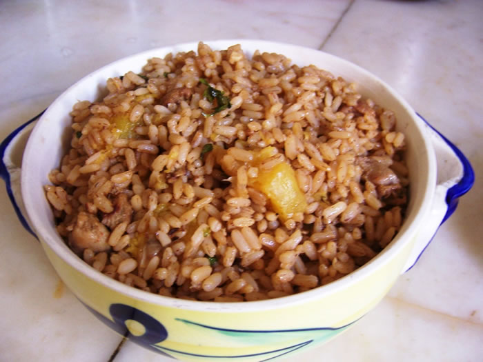 Brown rice - Natural Foods Holistic Treatment No Need For Pills