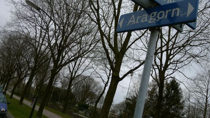Did You Know A Dutch Town Has Street Names from The Lotr Trilogy Books 3