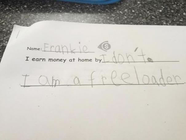 Funny Messages Left By Kids (15)