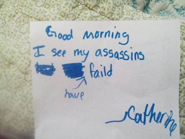 Funny Messages Left By Kids (16)