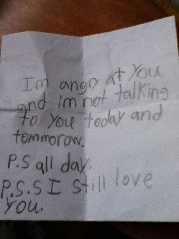 Funny Messages Left By Kids (23)