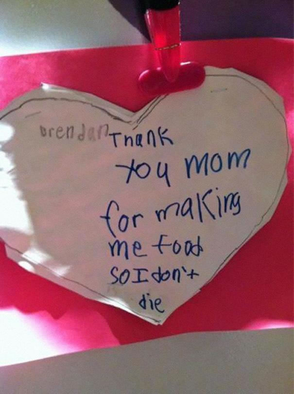 Funny Messages Left By Kids (5)