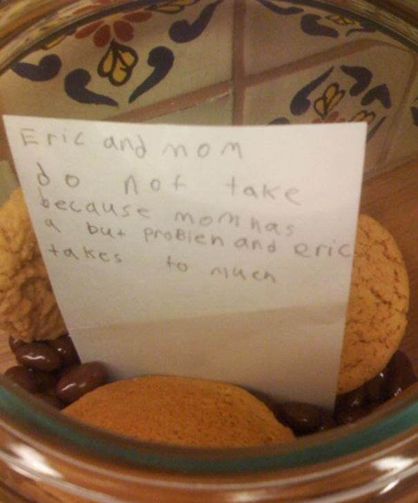 Funny Messages Left By Kids (8)