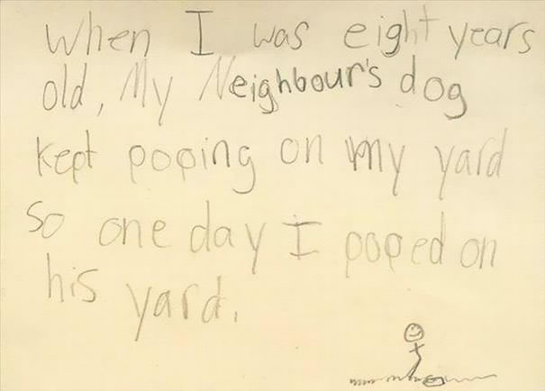 Funny Messages Left By Kids (9)