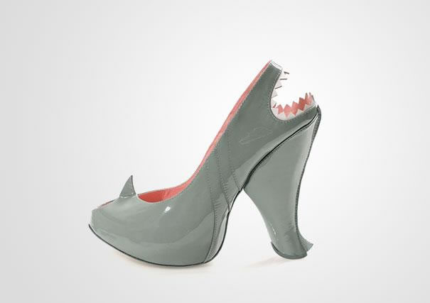 Shark High Heels Shoes From Kobi Levi