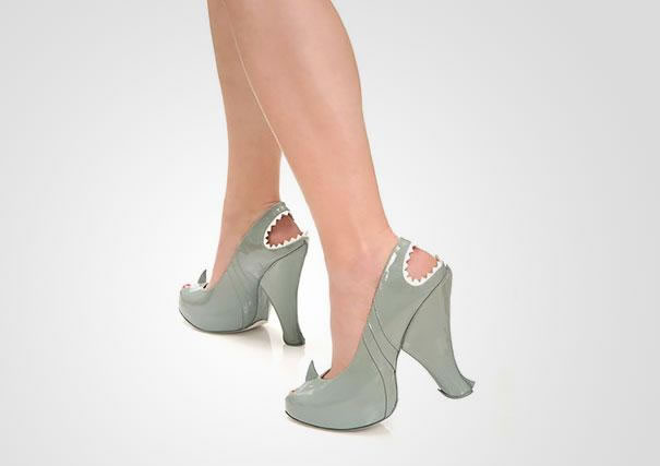 Shark High Heels Shoes