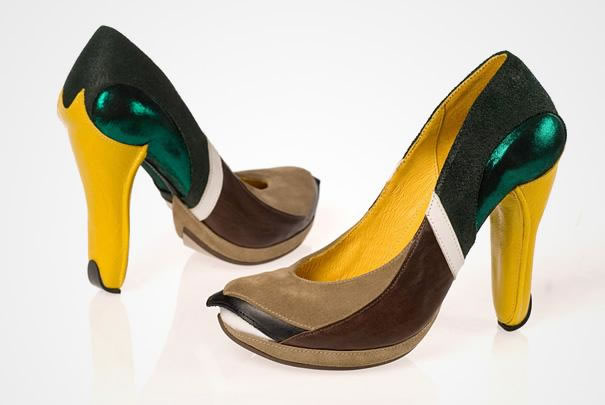 Mallard Duck High Heels Shoes