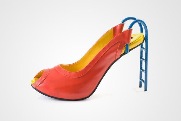 Slide High Heels Shoes