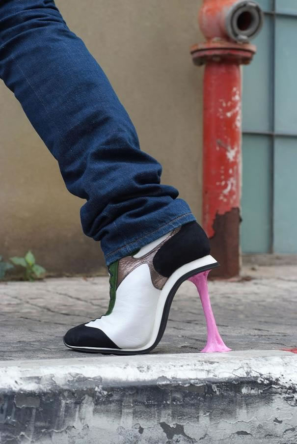 Chewing Gum High Heels