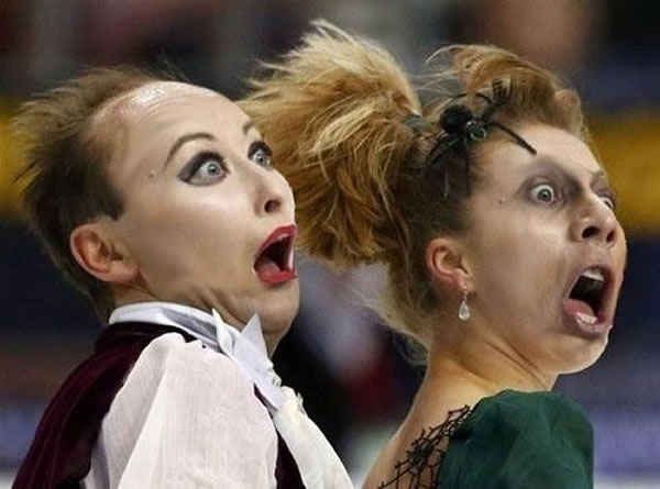 Professional Photography Pictures Of Athletes Pulling Funny Faces 15
