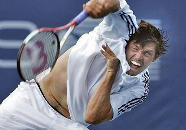 Professional Photography Pictures Of Athletes Pulling Funny Faces 4