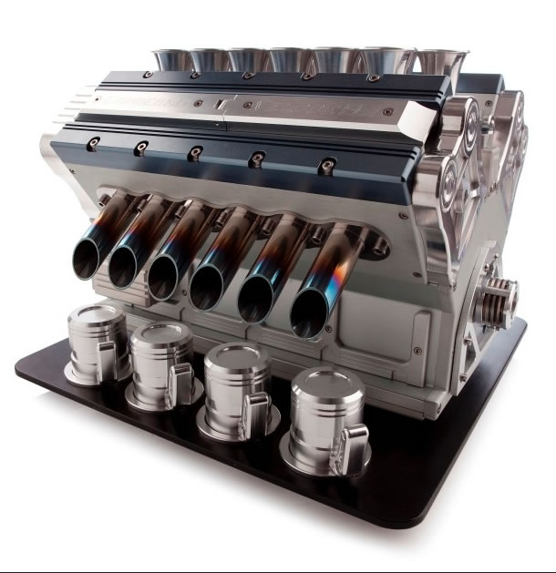 V12 Espresso Machine For Car Lovers 2