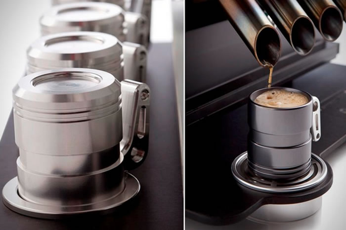 V12 Espresso Machine For Car Lovers 3