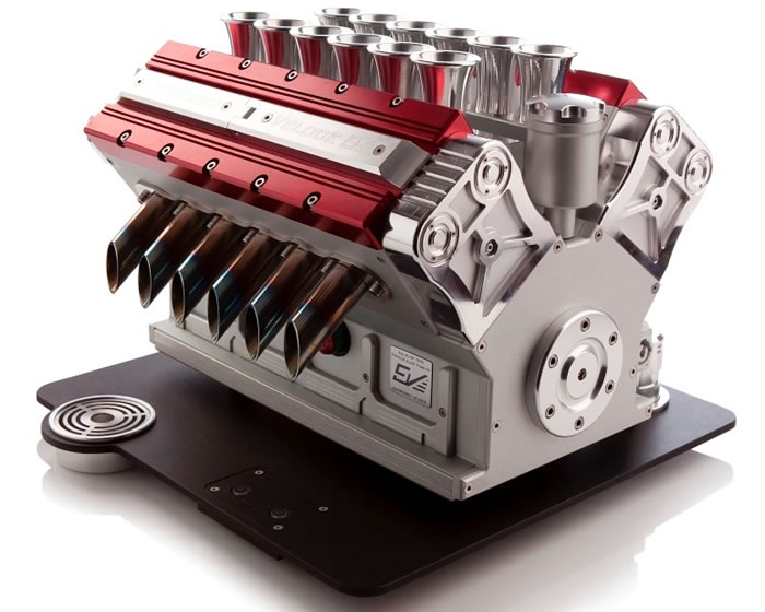 V12 Espresso Machine For Car Lovers