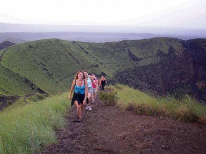 volcano walks