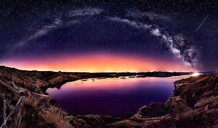 13. Milky Way over 'Las Barrancas'