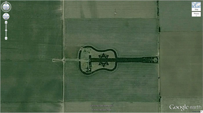 14 guitar-forest-google-earth