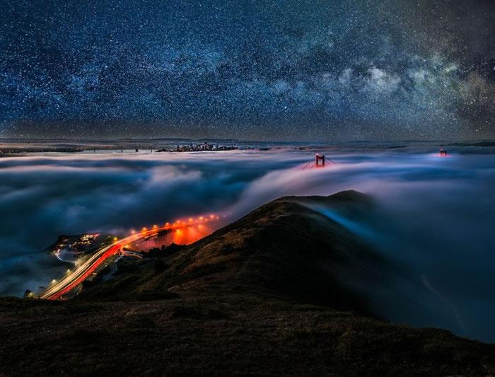 16. San Francisco unseen night by Ali Erturk