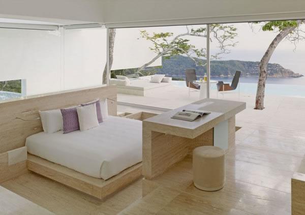 Bedroom – Hotel Encanto in Acapulco by Taller Aragones Arquitectos