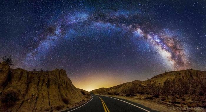 20. Through The Galactic Arch by Michael Shainblum