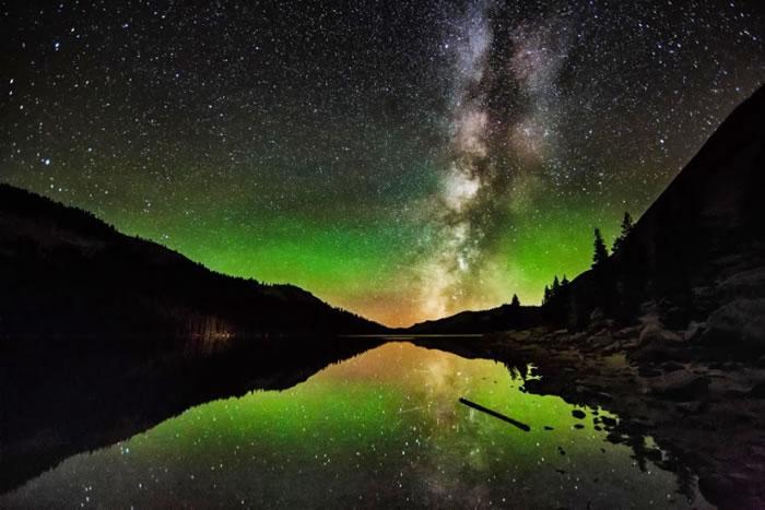 28. Milky Way Reflection by Rodney Lange