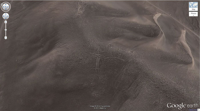 3 big-guy-google-earth-weird- 21 Amazing Mysterious Google Earth Satellite Images