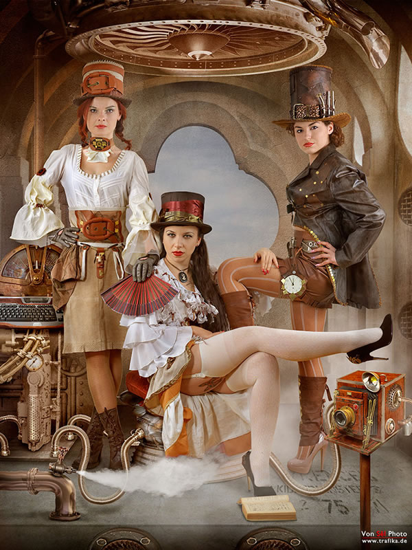 50 Amazing Steampunk Outfit Ideas (11)
