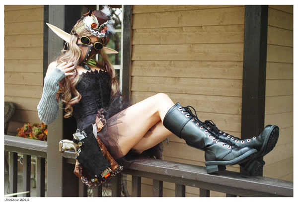 50 Amazing Steampunk Outfit Ideas (16)