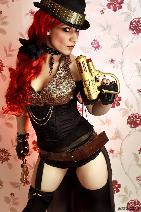 50 Amazing Steampunk Outfit Ideas (26)