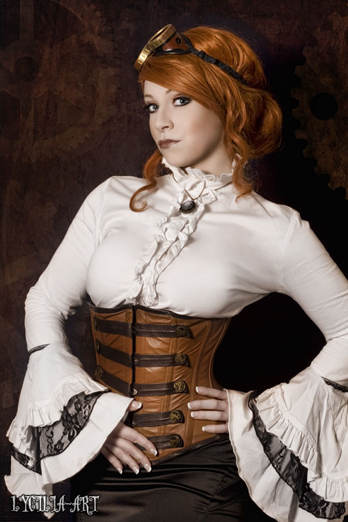 50 Amazing Steampunk Outfit Ideas (30)