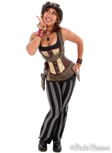 50 Amazing Steampunk Outfit Ideas (32)