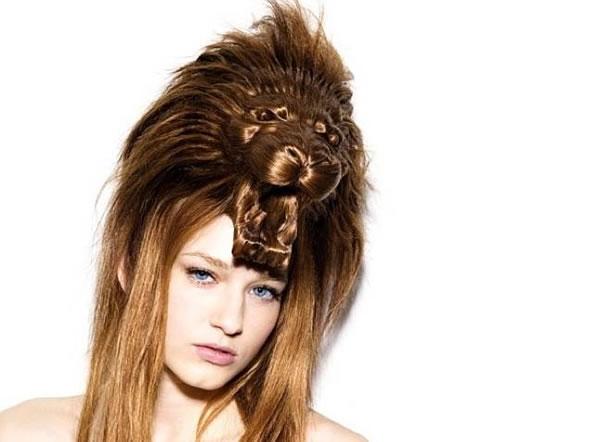 Amazing Animal Shaped Hairstyles By Nagi Noda 1
