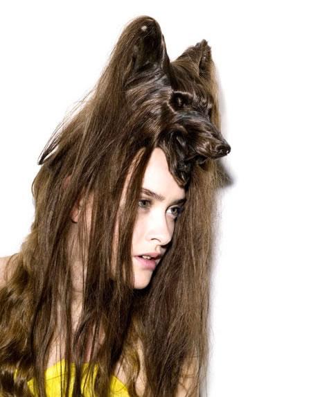 Amazing Animal Shaped Hairstyles By Nagi Noda 13