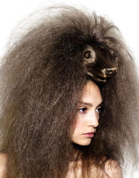 Amazing Animal Shaped Hairstyles By Nagi Noda 2