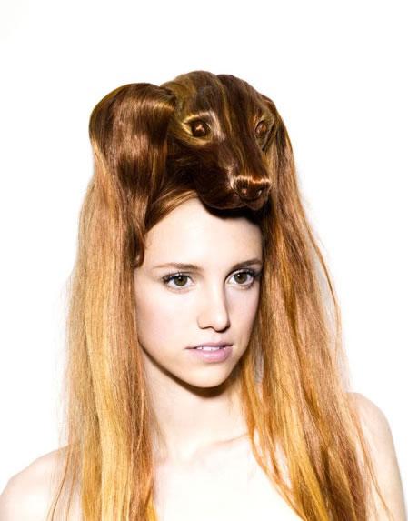 Amazing Animal Shaped Hairstyles By Nagi Noda 4